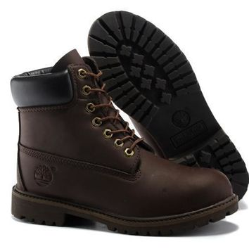 Brown Timberland Womens 6 Inch Boot