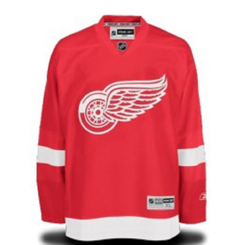 NHL Detroit Red Wings Premier Home No Name Jersey