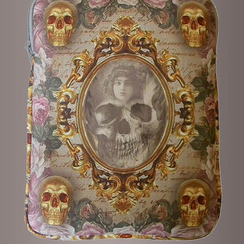 Mirror Mirror Skull iPad Tablet Case