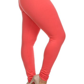 Poliana Plus Curvy Couture Leggings Multiple Colors Plus Size