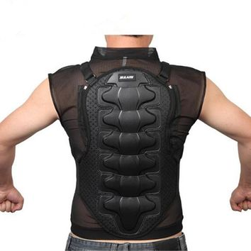 Riding Racing  Sleeveless Body Armor Jacket Outdoor Cycling Skiing Skate Off-road Breathing  Protect Clothing Gear