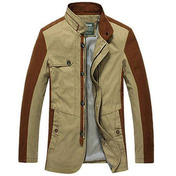 Winter Warm Coats Men Jackets New Cotton Men jackets and Coats Cargo High Quality For Autumn and Warm