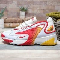 Nike Zoom 2K Red White Red Yellow - Best Deal Online