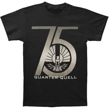 Hunger Games Men's  75th Quarter Quell T-shirt Black Rockabilia