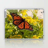 Butterfly Laptop & iPad Skin by Julianna Rae