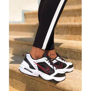 Nike Air Monarch IV Fashion New Women Men Rainbow Sports Leisure Sneakers Shoes
