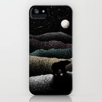 Wandering Bear iPhone Case by Speakerine | Society6