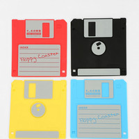 Urban Outfitters - Floppy Disk Coaster - Set Of 4