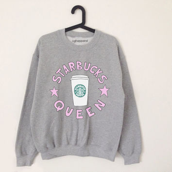 Starbucks queen grey sweater