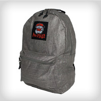 Mac Miller Kid Logo Grey Backpack