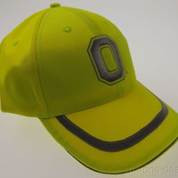 OSU Ohio State University Buckeyes Hunting Safety Cap Hat Fluorescent Yellow HMI