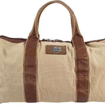 Canyon Outback Florida Gators 21-inch Canvas and Leather Duffel Bag