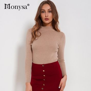 Women Sweaters And Pullovers Clothing Casual Knitted Women