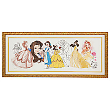 Art of Belle Limited Edition Framed Giclée