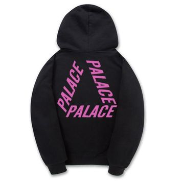 Unique Palace Triangle Black Sweatershirt Hoodies Pullovers
