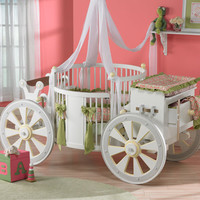 Majestic Carriage Crib : Custom Furniture at PoshTots