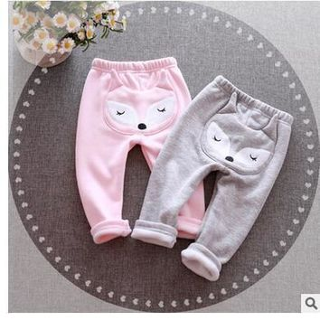 Selling 2016 children trousers baby girls leggings female baby big pp pants cotton more cartoon pants free shipping