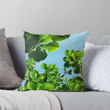 'Sublime' Throw Pillow by Karen Stahlros