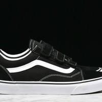 OLD SKOOL V - BLACK / WHITE