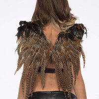 Brown Feather Wings