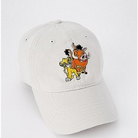 Simba and Pumbaa Dad Hat - The Lion King - Spencer's