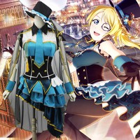 Lovelive! Cosplay Love Live Ayase Eli Occupation Awakening Thief Cos Anime Halloween Party Cosplay Costume Uniform