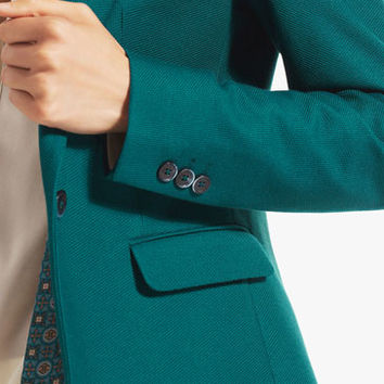 GREEN KNIT BLAZER - View all - Blazers - WOMEN - United States