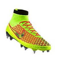 Nike Magista Obra SG-PRO iD Custom Men's Soft-Ground Soccer Cleats - Yellow