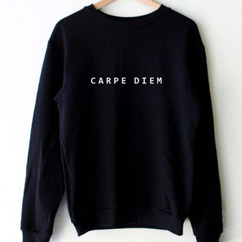 Carpe Diem Oversized Sweater