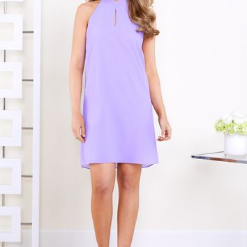 Annabelle Lavender Shift Dress