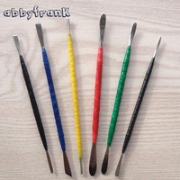 6Pcs/Set Fimo Polymer Clay DIY Sculpture Toys Oven Baked Clay Steel Carving Plasticine Tool By Hand Professional Tools
