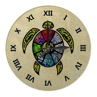 Turtle Ba-Gua Wallclocks