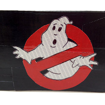 GhostBusters GLOW Duct Tape Wallet Glow In The Dark