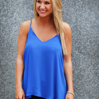 One & Only Tank {Blue}