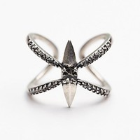 Luv AJ Womens Petal Pointe Ring
