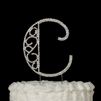 Best Monogram Cake Toppers Products on Wanelo
