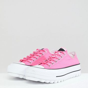 Converse Lift Ripple Sneakers In Pink at asos.com