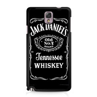 Jack Daniels Tennessee Whiskey Logo Samsung Galaxy Note 3 Case
