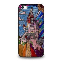 BEAUTY AND THE BEAST CASTLE DISNEY  iPhone SE Case Cover