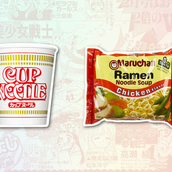 Instant Ramen Set of 2 Stickers