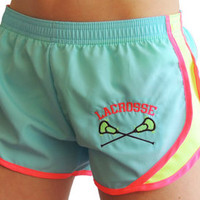 Youth Light tourquise/Neon Yellow/Neon Pink Sport Shorts - Sportabella, Ltd Store