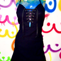 SWEET LORD O'MIGHTY! THE XTINA DRESS IN BLACK