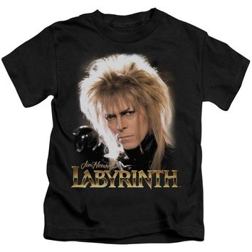 Labyrinth - Jareth Short Sleeve Juvenile 18/1 Shirt Officially Licensed T-Shirt