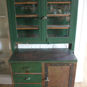 Antique Apothecary Display Cabinet