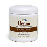 Rainbow Research Henna Hair Color and Conditioner - Persian Medium (Brown Chestnut) - 4 oz