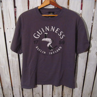Official Guinness Dublin Ireland T-Shirt, Size Large