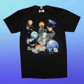 "Space dog T-shirt ""MAX WOWCH"""