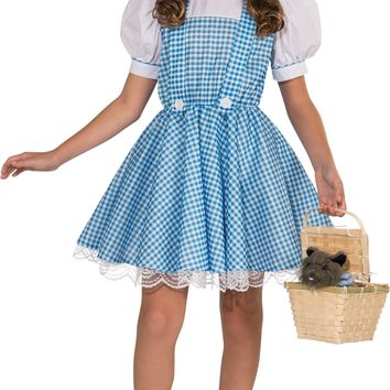 Rubies Wizard of Oz Deluxe Dorothy Costume Small
