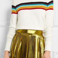 Chloé - Striped cotton sweater