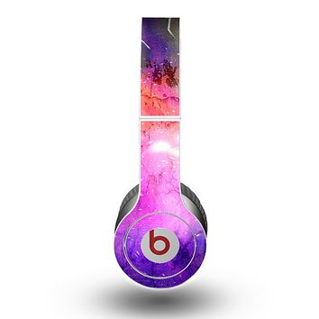 The Warped Neon Color-Splosion Skin for the Beats by Dre Original Solo-Solo HD Headphones